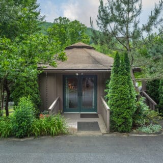 My Roundette Exterior - The Cove at Fairview Vacation Rentals - Asheville NC