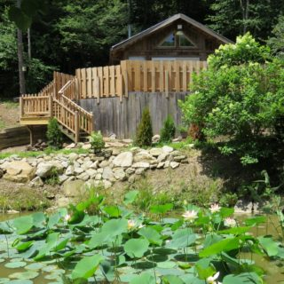 Lotus Pond - The Cove at Fairview - Vacation Rentals - Asheville, NC