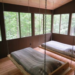 Swinging Beds at The Cove at Fairview - Vacation Rentals - Asheville NC