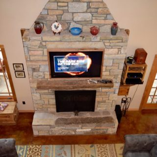 My Place living room - The Cove at Fairview - Vacation Rentals- Asheville, North Carolina