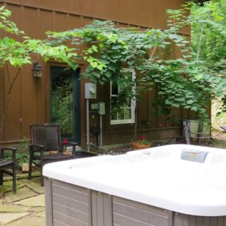 My Place has a private hot tub - The Cove at Fairview - Vacation Rentals- Asheville, North Carolina