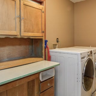 Our House Laundry Room - The Cove at Fairview Vacation Rentals - Asheville NC